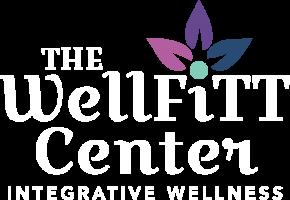 The WellFITT Center Logo WHITE
